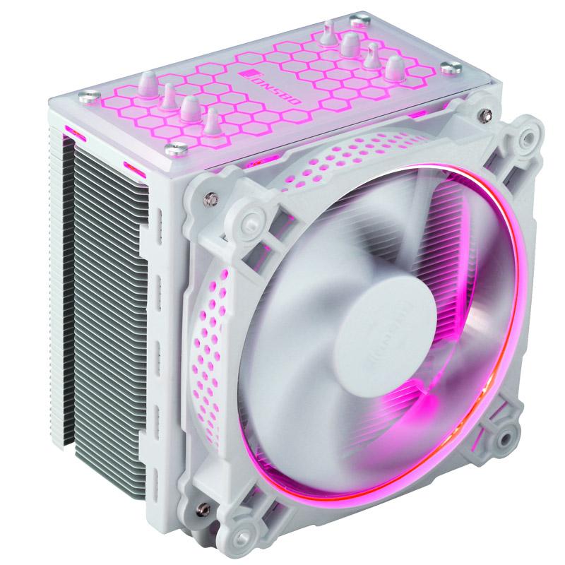 乔思伯 CR-201白 RGB 散热器